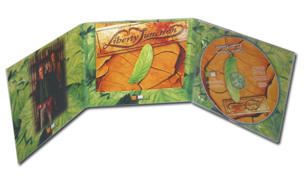 Troy Horse 6 Panel Digipak with Booklet in Centre Slit