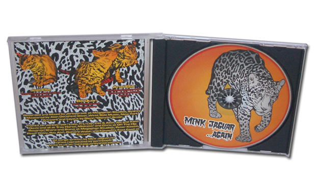Troy Horse CD in Jewel Case Open